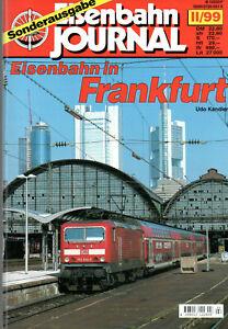 Eisenbahn Journal Sonderausgabe II/99: Eisenbahn in Frankfurt