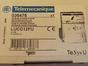 SCHNEIDER-ELECTRIC-LUCC12FU-ADV-CNTRL-UNIT-CL10-1PH-3-12A-110-240VAC