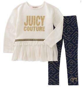 Juicy-Couture-Girls-Tunic-amp-Legging-Set-Size-12M-60-NWT-gift-set-2pcs