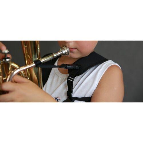 Kinder Euphonium Tenorhorn Tragegurt // Kreuzgurt für Althorn Bariton
