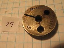 Scc 1 12 28 Nf Thread Gage Go 1928 29 Machinist