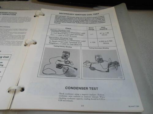 Mercury Outboards Service Manual Binder 2.2 90-44477 OEM Boat ...
