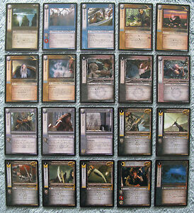 Lord of the Rings LOTR CCG TCG Mines Of Moria Rare cards 1//2