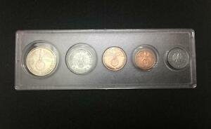 Rare-WW2-German-Coins-Set-Big-Eagle-SILVER-Coin-with-Secure-Display-Case