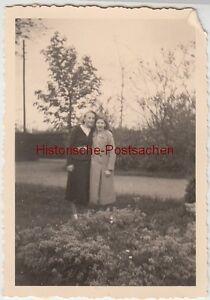 (f5417) Orig. Photo 2 Filles Dans Le Parc, Cuxhafen, Mai 1938-afficher Le Titre D'origine