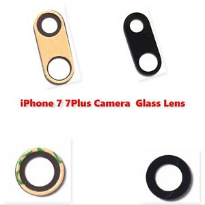 iPhone 7 / 7 Plus Rear Camera Glass Lens with Adhesive Sticker Replacement