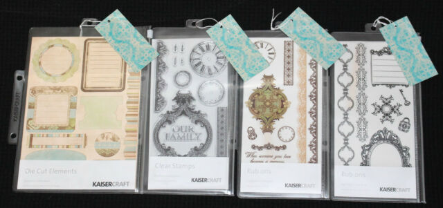 Kaisercraft 'DUCHESS' Vintage Embellishment 4pcs KAISER *CLEARANCE 4 LEFT*