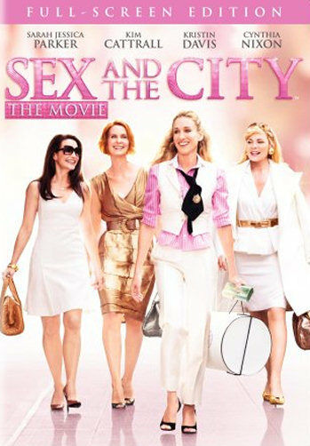 Sex and the City - The Movie (DVD, 2008, Full Frame) - Disc Only