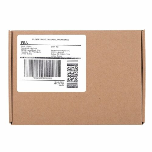 """4/""""x3 1//3/"""" Address Shipping Self Adhesive Labels 6 UP 12000 Label 2000 Sheet"""