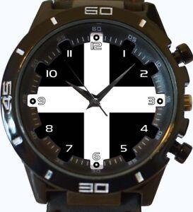 Armbanduhren County Flagge Von Cornwall Trendy Sport Gt Stil Unisex Geschenk Armbanduhr Uhren & Schmuck