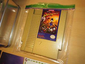 DuckTales-Gold-Remastered-Press-Kit-Nintendo-jeu-Nes-Complet-rare-collector