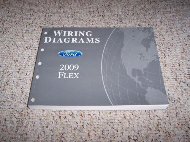 2009 Ford Flex Electrical Wiring Diagram Manual Se Sel