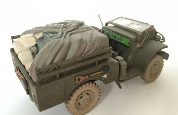 Corgi héroes olvidados escala 1 43 WC51.3 4 Ton armas compañía-U. S. Ejército