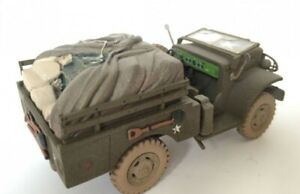 CORGI-FORGOTTEN-HEROES-SCALE-1-43-WC51-3-4-TON-WEAPONS-CARRIER-U-S-ARMY