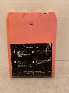 Led Zeppelin Untitled 4 IV Zoso 8-track Tape Cartridge 1973 Atlantic TP-7208
