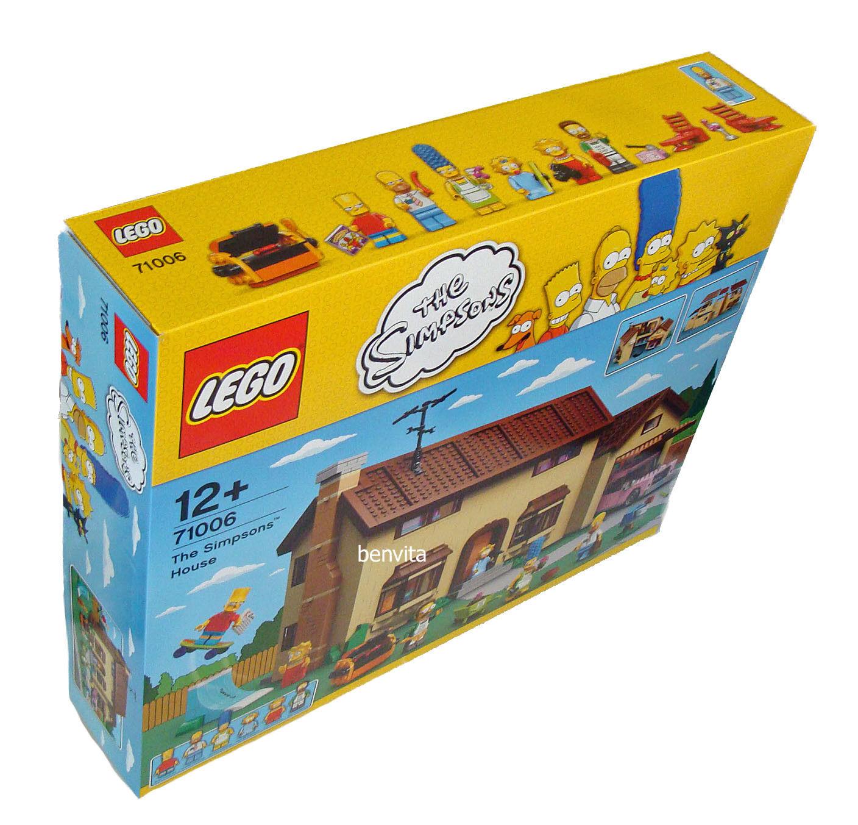 Lego® Simpsons 71006 - Das Simpsons Haus 2523 Teile 12+ - Neu