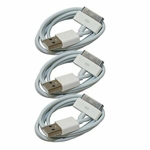 3X-USB-Sync-Data-Charging-Charger-Cable-Cord-for-Apple-iPhone-4-4S-ipod-Touch-4G