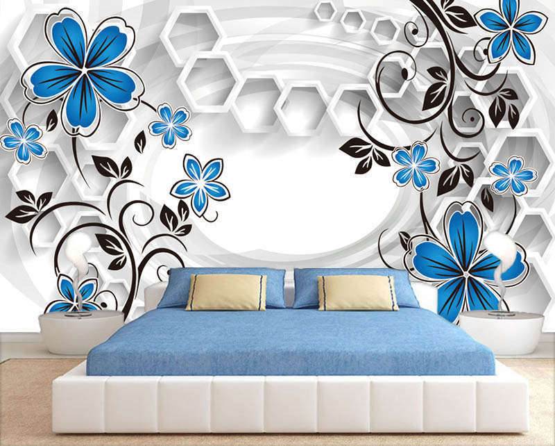 New name 3D Full Wall Mural Photo Wallpaper Printing Home Kids Decoration