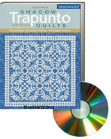 Shadow Trapunto Quilts (pb) By Geta Grama Full-size Patterns On Cd