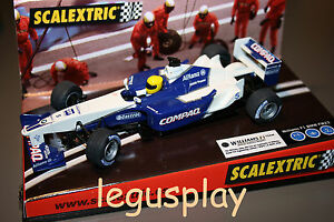 Emplacement Scx Scalextric 6095 Williams F-1 Nº 5 2001 Schumacher - Neuf