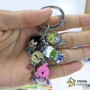 Anime-Dragon-ball-Z-DBZ-cosplay-Son-Goku-characters-key-ring-keychain