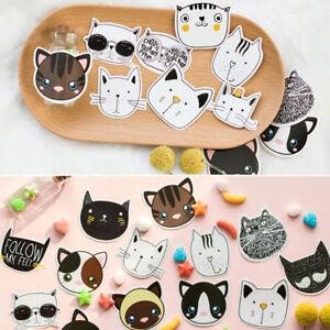 45pcs-box-Creative-Cat-Head-Paper-Sticker-Decoration-DIY-Diary-Label-Sticker-New
