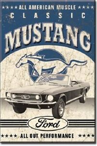 Ford-Classic-Mustang-Fridge-toolbox-magnet-039-All-American-Muscle-039-great-gift