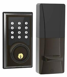 TURBOLOCK TL201 Electronic Keypad Deadbolt Door Lock Keyless Entry Code Disguise