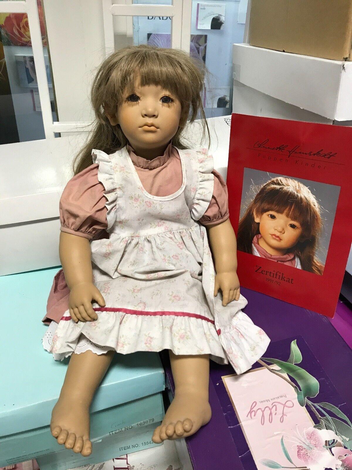 Annette Himstedt Himstedt Himstedt Puppe Neblina 65 cm Top Zustand. 914cf2