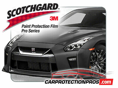 3M Scotchgard Paint Protection Film Clear Bra Pre-Cut Fits 2017 2018 Nissan GT-R