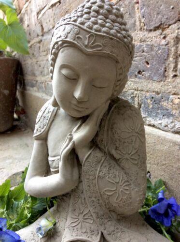 De sius Magnifiquement Détaillée Grande boudhas statue pour la maison ou jardin
