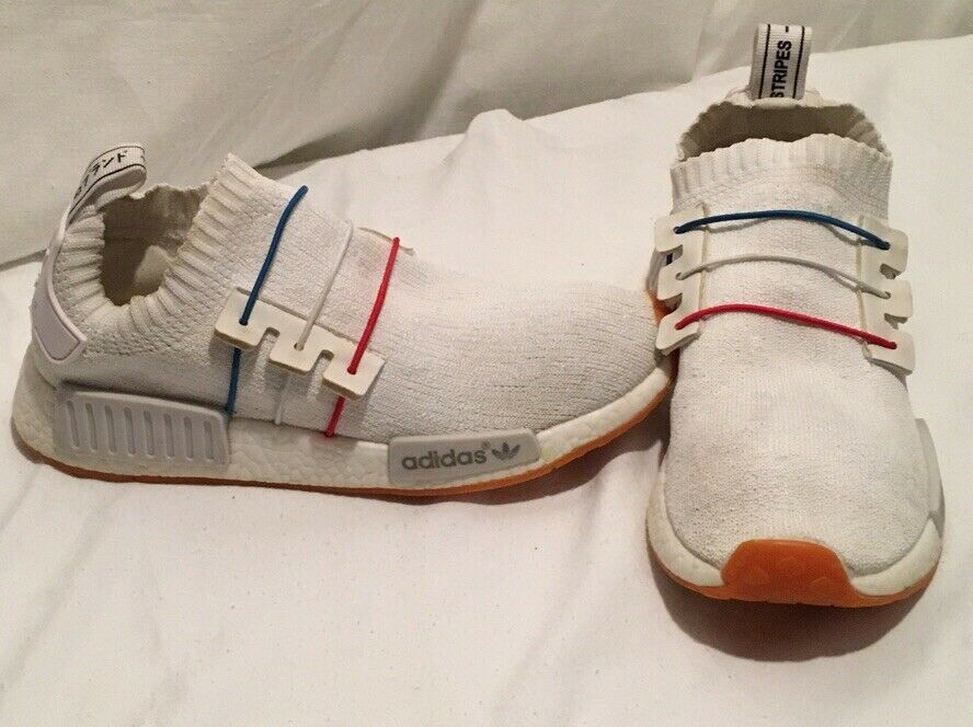 Adidas Nmd Runner J S75339 Blue White Peach Boost Gs Size 6 5 For