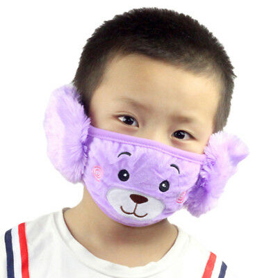 Anti-dust Winter Baby Mouth Face Cf Casual Plush Ebay Mask Kids Quilting Children