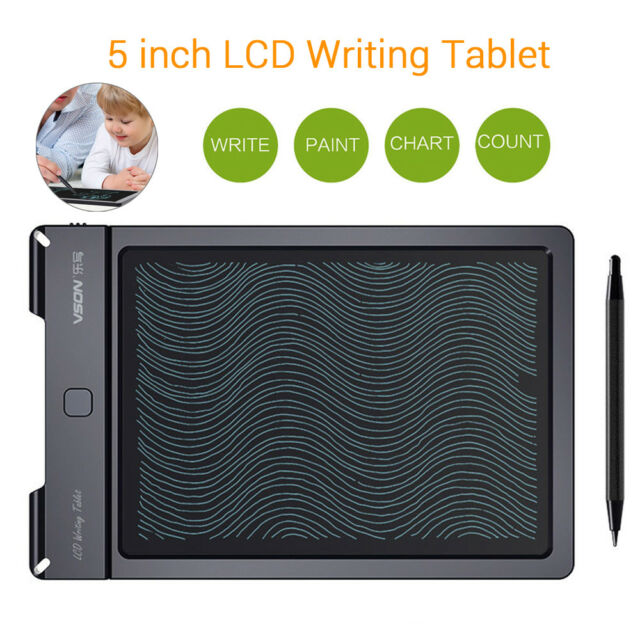 5 inch Electronic Digital Portable LCD Writing Pad Tablet eWriter Boards Stylus