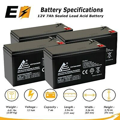 Mighty Max Battery Altronix AL400ULXR 12V 10 Pack Brand Product 9Ah Lead Acid Battery