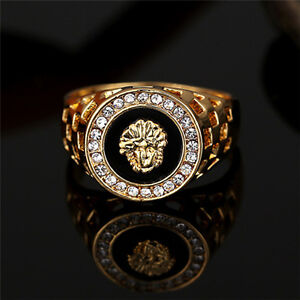 Image Is Loading Vintage Men Jewelry Stainless Steel Pinky Engagement Ring
