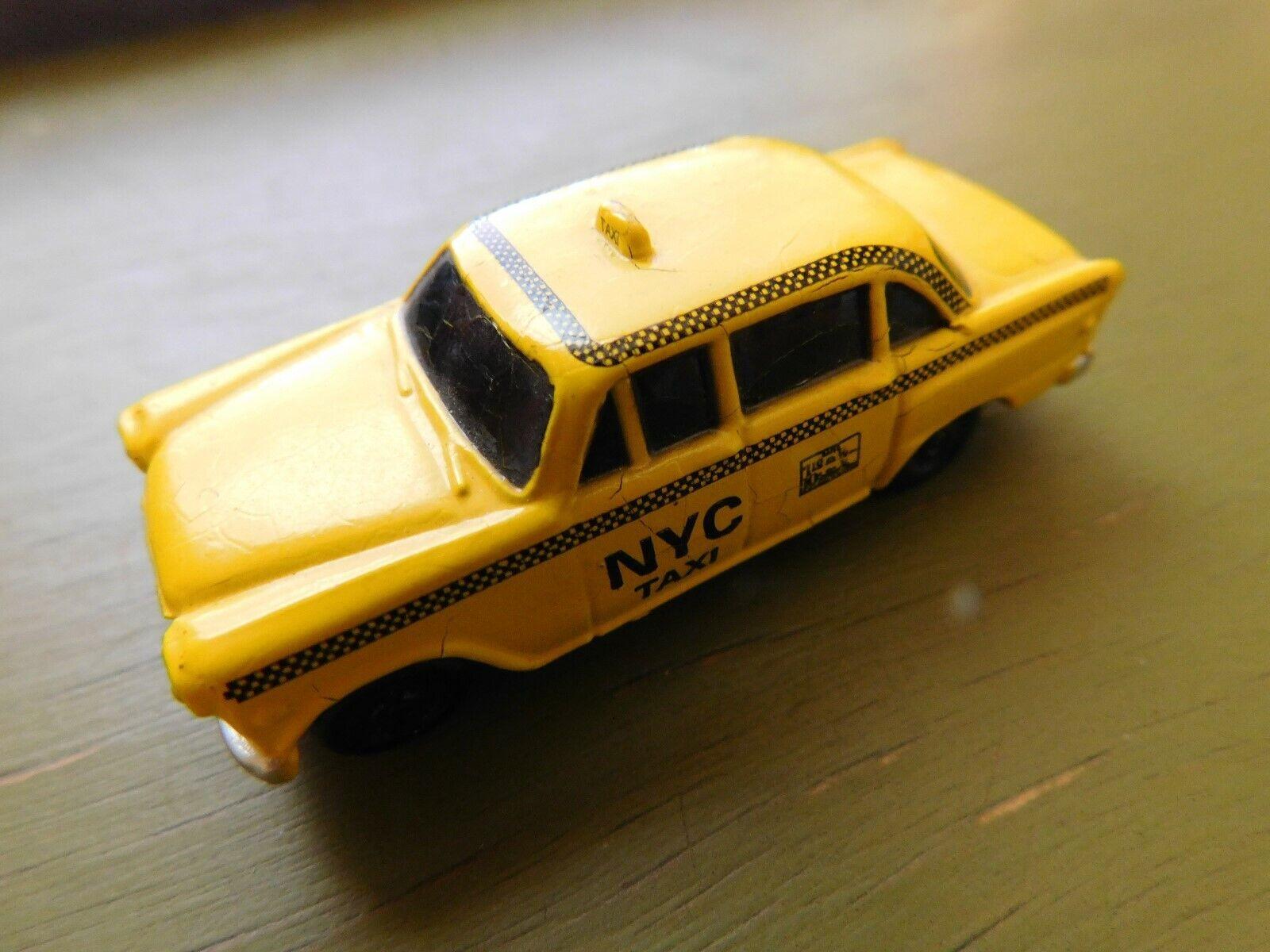 edición limitada en caliente 1 87 Albert elovitz elovitz elovitz Inc. Mini Checker para Taxi Amarillo Die Cast pequeño Pittsburg PA  todos los bienes son especiales