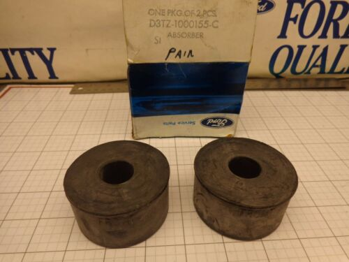 FORD OEM NOS D3TZ-1000155-C Absorber Body Mount Front Some F150 250 73-79 Qty 2