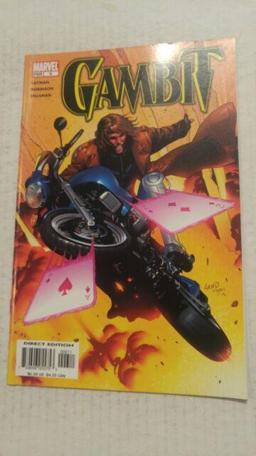 Gambit #6 March 2005 Marvel Comics Layman Robinson Hillsman