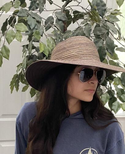 "Wallaroo ""Sydney Diva"" Sun Hat Wide Brim Brown Pac"