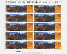 EUROPA CEPT 1999 NATUR NATIONALPARKS - ANDORRA FRANZÖSISCH 535 KLEINBOGEN **