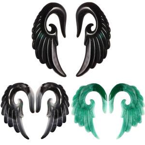 Punk-Women-Angle-039-s-Wing-Clip-Ear-Cuff-Stud-Wrap-Cartilage-Earring-Cuff-Jewelry
