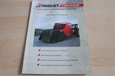 128239) Trioliet Futtermischwagen Vertifeed Prospekt 1999