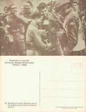SOLDATI CON PARTIGIANI  - Com.Brig.Mot. FRIULI    (rif.fg.2419)
