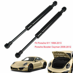 For-Porsche-911-98-13-Boxster-Cayman-06-12-Front-Gas-Struts-Hood-Lift-Support