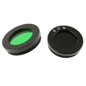 1-25-034-Astronomy-Telescope-Eyepiece-Lens-Color-Filter-Green-Black-Universal