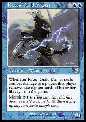 1x Raven Guild Master NM-Mint English Scourge MTG Magic