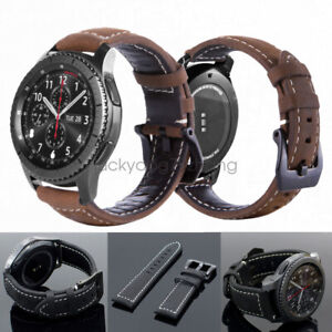 Real-Leather-Band-Strap-for-Samsung-Galaxy-Watch-Gear-S3-Classic-Frontier