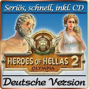 ⭐️ Heroes of Hellas 2 Olympia - Die Wiege Olympias 2 - PC / Windows ⭐️
