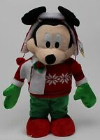 Christmas Winter Disney Mickey Mouse Porch Greeter 23 In Tall
